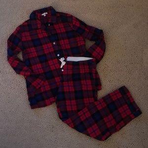 J.Crew Flannel Pajama Set